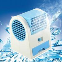 climatiseurs vente achat en gros de-HOTTEST Vente Mini USB Fragrance Réfrigération Ventilateur Portable Bladeless Ventilateur De Bureau De Refroidissement Climatiseur avec Emballage De Détail