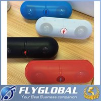 Wholesale iphone stereo player - Mini Speaker Pill XL B50 Bluetooth Protable Wireless Stereo Audio Super Bass U Disk TF Slot Handsfree MP3 Player With Handle for iPhone 7 6s