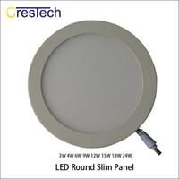 luz empotrada cocina al por mayor-Tipo redondo y cuadrado 3W 6W 9W 12W Foco empotrable LED para cocina dormitorio luces comerciales commerical LED