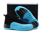 Wholesale boy master - Kids Basketball Shoes 12s The Master Shoes For Children Sneakers Boys Girls Athletic Shoes Size 28-35 With Box