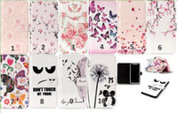 Wholesale Iphone Love Flower Case - Relief Flower Leather Wallet Case For Iphone X Galaxy (J7 J5 J3)2017 Butterfly Heart Blossom Lover Rose Don't Touch My Phone Love Flip Cover