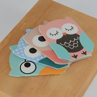 All'ingrosso-notebook gufo caderno livros forniture scolastiche cuadernos shopping lista kawaii cahier carnet giornale planner binder cuadernos