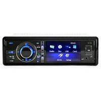Barato Single Din Audio Dvd-3 '' Single One Din Bluetooth Car DVD Player MP3 MP5 Rearview Backup AUX Audio para Universal