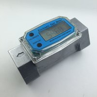Wholesale Measurement Meter - Wholesale- G1.5 Turbine Digital Diesel Fuel Flow Meter Electronic Flow Measurement Device Plus Methanol Metering Pumps Pumping Count
