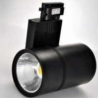 ingrosso lampade alogene-Proiettore a binario LED da 30W AC110-240V Illuminazione a binario Proiettore a binario a parete per punti vendita al dettaglio Sostituisce le lampade alogene