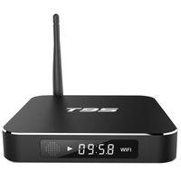 Wholesale Google Smart Media Tv - T95 TV Box S905X Quad Core Android 6.0 Wifi 2.4GHz Bluetooth 1GB 2GB Smart IPTV Box Media Player
