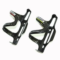 Wholesale Bicycle Side - Carbon Water Bottle Cage Bicycle Bottle Holder MTB Road 3K Carbon fiber side pull Bottles Cages Bike Bottles Holder cycling accessories