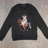 Wholesale Cheap Tshirt Dresses - 2016 Yeezus new Winter DG Mafia cowboy Knight men women Palace tshirt hoodies Europe cotton dress Anti social social club Cheap Casual Wear