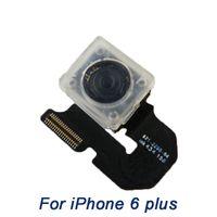 Wholesale Main Parts - main camera iPhone 6 Plus , grade A+ Aoriginal new Back Camera   Rear camera   Lens Flex Ribbon Cable Repair Parts