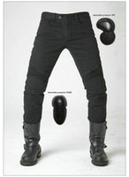 Wholesale Protection Trouser - uglyBROS Featherbed black motorcycle jeans motor ridding trousers Motorcycle protection pants motorcycle protective jeans