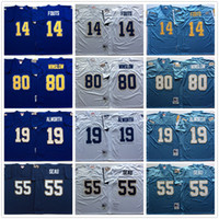 d4c4a4f7 ... Player Throwback Football Jerseys Vintage 14 Dan Fouts Jersey 55 Junior  Seau 19 Lance Alworth ... Discount Throwback 14 Dan Fouts Jersey Home Navy  Blue ...