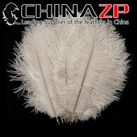 Wholesale Cheap Wedding Confetti - Leading Supplier CHINAZP Crafts Factory 20~25cm(8~10inch) Cheap Wholesale Dyed Snow White Ostrich Confetti Feathers for Wedding Decoration