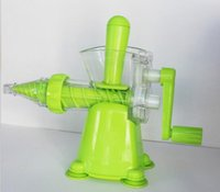 Extincteur Juicer presse à fruits pour bébés Juicer juice machine manual Juicer en gros