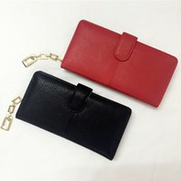 New Arrival Woman Wallets Fashion Hasp Clutch Bag Pacote de cartão de crédito casual Multi-bit Ladies Elegante Business Coin Purse Estilo Longo VKP1401