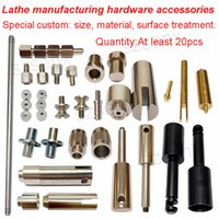 Wholesale Precision lathe processing non standard hardware parts according to the customer to provide the design drawings special custom