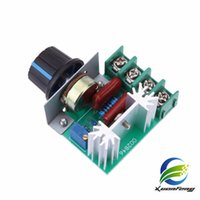 Wholesale Free Electronic Module - Free Shipping High Quality 1pc 2000W AC 220V SCR Electronic Voltage Regulator Module Speed Control Controller Worldwide Top Sale