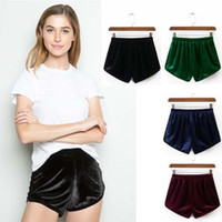 Wholesale Young Girls Stocking - women ladies short pants young girl beautiful summer street fashion style all in stock All-match Loose Solid Soft Cotton Casual