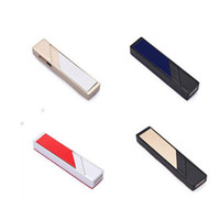 Wholesale Usb Power Flameless Cigarette Lighter - USB Lighters Electronic Cigarette Eco-Friendly Lighter Power Battery Cigarette Cigar Flameless lighter offer gas torch lighter 2016