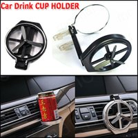 Wholesale Air Condition Auto - Universal Folding Air Conditioning Inlet Auto Car Drink Car Beverage Bottle Cup Car Frame for Truck Van Drink