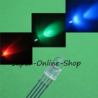 Wholesale Cathode Diode - Wholesale- 20 pcs LED 5mm RGB COMMON Anode +20 pcs LED 5mm RGB COMMON Cathode 4Pins RGB Water ClearTri Color Emitting Diodes