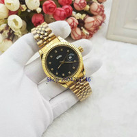 Wholesale Double Saw - Deluxe double calendar in 16233 quartz watch brand fashion body see crown high quality free shipping wholesale watches