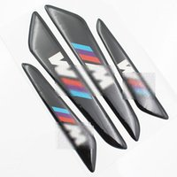 Wholesale Bmw M1 - Universal 4PCS Car Door Protector Door Side Edge Protection Guards Stickers For BMW M1 M3 M5 X1 X3 X5 E63 Car Styling