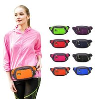 Wholesale Fanny Top - Wholesale-Top Quality Unisex Running Bum Bag Travel Handy Hiking Sport Fanny Pack Waist Belt Zip Pouch Running Bag Free Shipping
