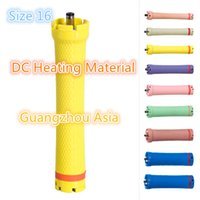 Wholesale curler rods for sale - Group buy 2017 hot sale salon use hair perm roller rod curler DC material water proof V size