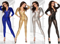 Wholesale Ds Bar - Bar nightclub ds lead dancer clothing costumes sexy piece pants European jazz singer golden costumes