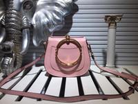 Wholesale Ladies Shoulder Computer Bag - Fashion Totes Women Half Moon Bag High quality brand woman Shoulder bags Plain color lady handbag Size 19x16x7.5 cm model 145689579