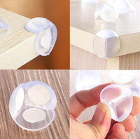 Wholesale cover baby - Baby Safety Corner Guards Table Protector Edge Safety Products Protection Cover Child Safety Protector Corner Guards Round Cushion KKA2178