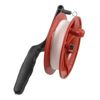 Wholesale Bamboo Reels - Wholesale- 100M Twisted String Line Red Wheel Kite Reel Winder