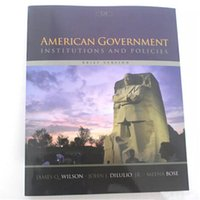 Wholesale 2017 New American Government Institutions and Policies