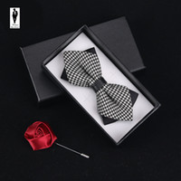 Wholesale Men Wedding Tie Shirt - UR 72 Vintage Wedding Summer British Style Cotton Men Bow Tie Classic Tie Bowtie For Men Male Bussiness Shirts Tie Cravats Accessories