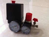 Wholesale Ac Pressures - 15A 240V AC Air Compressor Pressure Switch Control 7.25-125 PSI