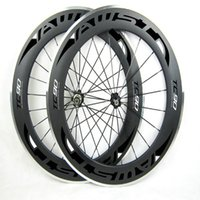 Wholesale 16 Aluminum Alloy Wheel - AWST Carbon Wheels 88mm 700C Clincher Carbon Road Wheels Rim Alloy Brake Surface more durable Aluminum Braking Surface wheels made in china