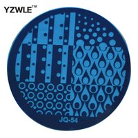 Wholesale PC Optional JQ Series Styles Available DIY Nail Art Lace Flower Stencils Stamping Template Printing Image Plates JQ