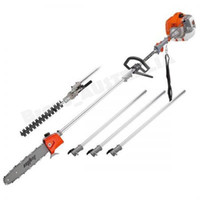 New model 52CC long reach chain saw,pole hedge trimmer,3pcs extensions