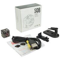 Wholesale hd thumbs - Super Mini Thumb Camera SQ8 Portable Mini DV Sports Camera 1080P 720P HD Car Night Vision DVR Motion Detection Camera With Retail Box