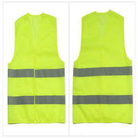Wholesale traffic vests - High Visibility Working Safety Construction Vest Warning Reflective traffic working Vest Green Reflective Safety Clothing