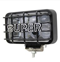 rectangle led reflectors prices - 2 Pieces 80W Driving Light Led 4X6inch Cree Chip 4D Reflector Spot and Flood Beam 4500Lm Road Light for Lada Niva Jeep 4X4