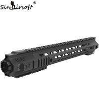Wholesale Picatinny M4 - Sinairsoft BD SAI Style Picatinny Rails 14 17 Inch New style hunting Picatinny HandGuard Rail System Black for Airsoft AEG M4 M16