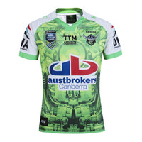 Wholesale Raiders Shirt L - New Zealand RAIDER NRL Men Rugby Jersey Super Rugby 2017 Oakland home rugby shirt S-2XL