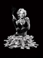 Wholesale Fans Indoor - Marilyn Monroe Flags Banner Johnny Cash Flags for Marilyn Monroe J.R.Cash Fans 3ft*5ft Home Decoration Banner Indoor Flags Christmas Gifts