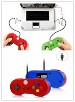 Ordinateurs portables Pas Cher-Multicolor Special Custom USB jeu Controller Glossy Shell Gaming Joystick Gamepad pour Windows PC / MAC / Laptop