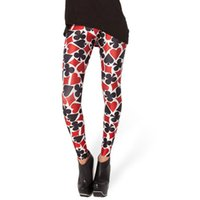 Atacado- HOT Sexy Fashion Pirate Leggins Galaxy Pants Impressão Digital DECK OF CARDS LEGGINGS - LIMITED For Women
