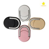 Wholesale Ring Rose Gold Silver - Metal Ring Phone Holder with Stand Unique Mix Style Cell Phone Holder Fashion for iPhone 7 Plus Universal All Cellphone with retail package