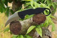 Wholesale Cold Steel Karambit - Cold steel 996 karambit knives fixed blade machete claw knife hunting outdoor survival camping knives edc tools