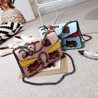 Wholesale Ship Pursed Brand Name - free ship woman leather european american luxury famous brand name even clutch designer handbag purse bag