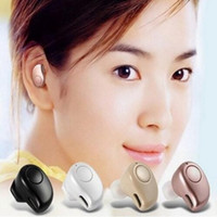 Wholesale Stero Wireless Earphones - White Blutooth Headset Microphone Mini S530 Plus Earphone Micro Earpiece Sport Music Stero music Headset Retail Box for iphone7 7plus 6plus